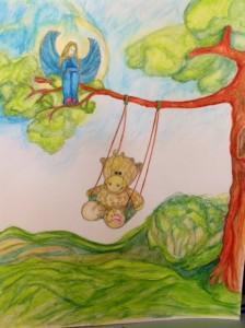 Watercolour by Zofia Polak for Children